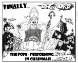pope, religion, joke, comic