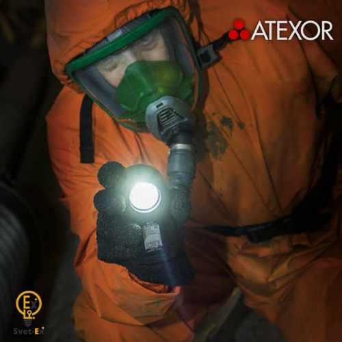 Фото Фонарь взрывозащищенный аккумуляторный ручной MICA ML-808