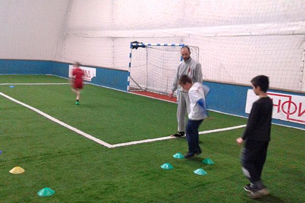 Фудбалски тренинг ПСД Света Србија