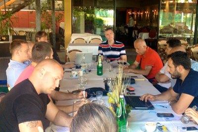 Састанак оперативног тима на Ади