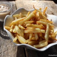 Homemade Fries With Chick-fil-A Sauce