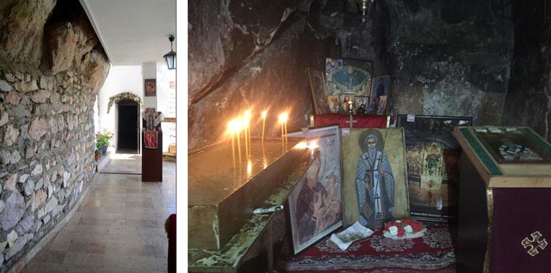 манастир св. Еразмо - pesterska crkva zivopis