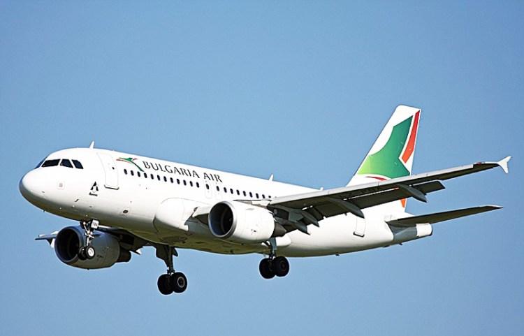 Самолет Bulgaria Air