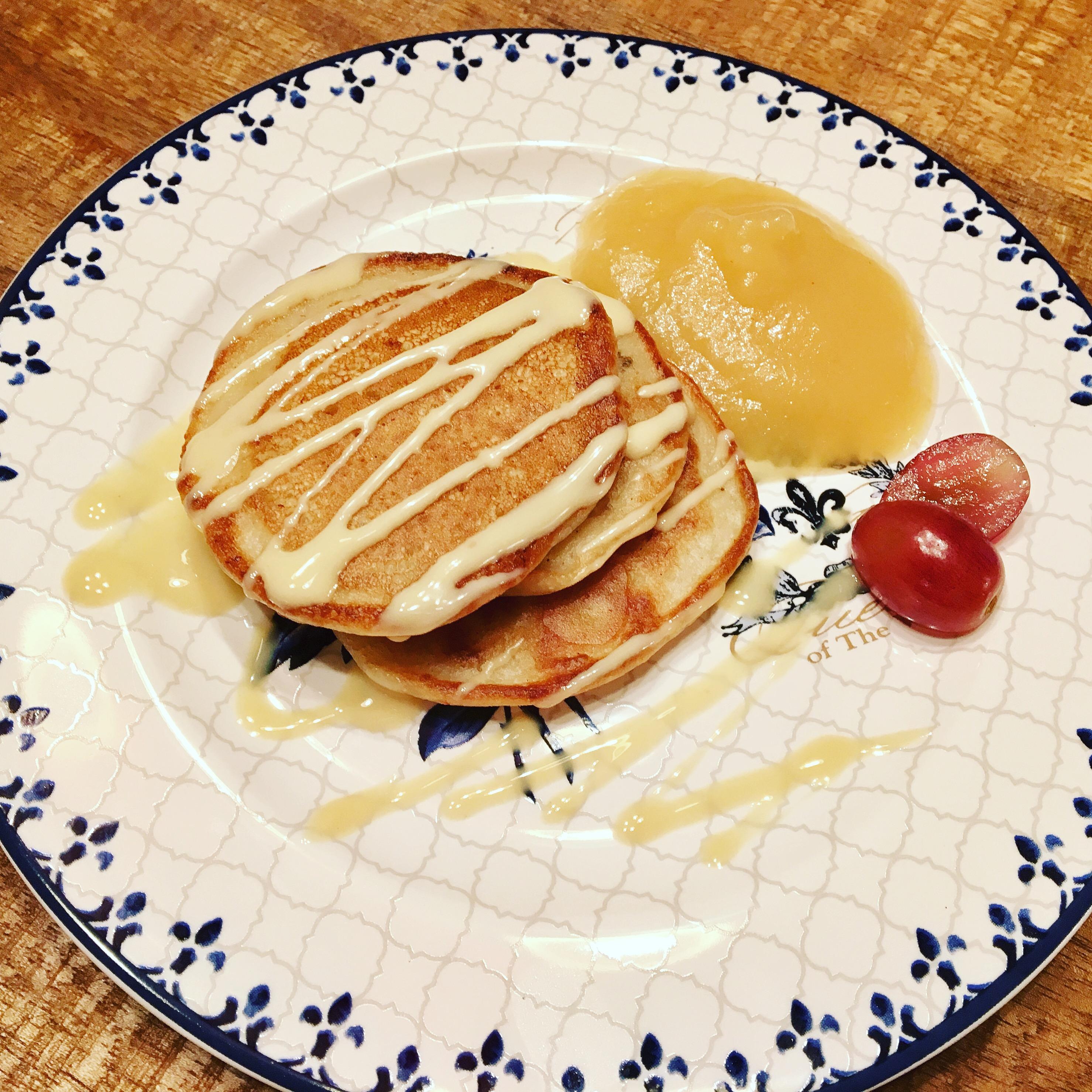 Mandel-Bananen Pancakes