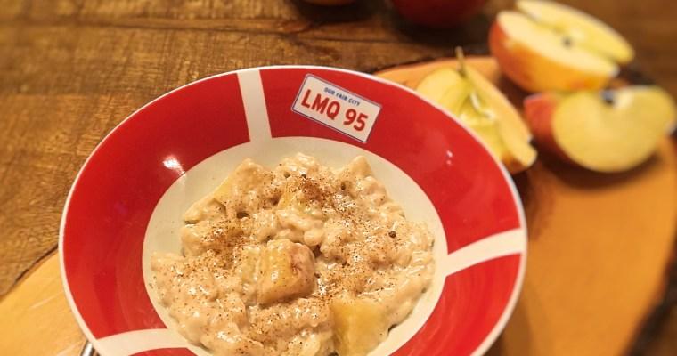 Cremiger Bratapfel-Milchreis