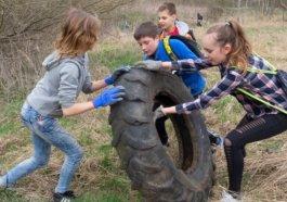 děti a pneumatika