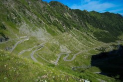 Legendární silnice Transfagarasan