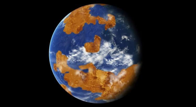 Venuše s oceánem