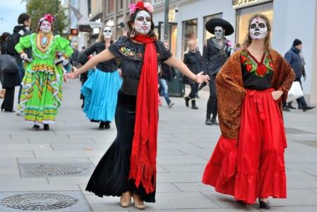 Den mrtvých vMexiku