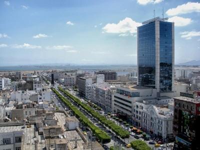 Tunis je moderní metropolí.