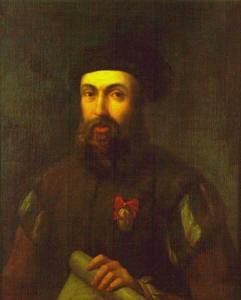 Portrét Fernando de Magallanese