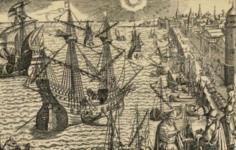 Fernando de Magallanes vyplouvá od španělských břehů