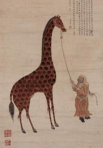 Jedna výprava přivezla z Afriky žirafu