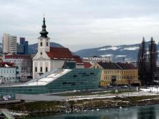V Linci se snoubí moderní architektura s historií