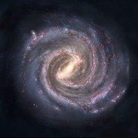 Mléčná dráha. Zdroj: Volné dílo