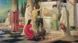 Vestálky v chrámu bohyně Vesty
