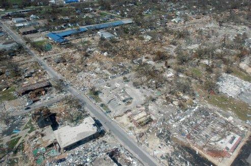 následky hurikánu Katrina