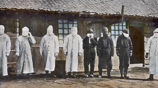 Plicní mor vČíně 1911