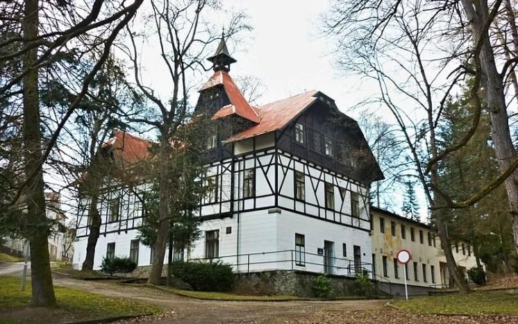 Lázeňský dům v Bechyni