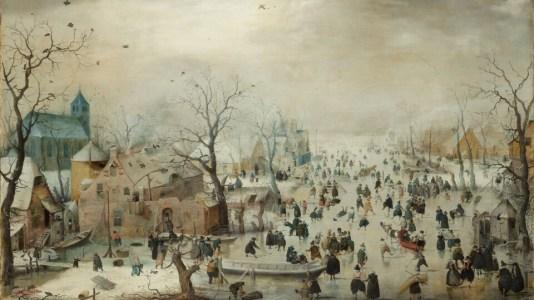 Bruslaři vroce 1608