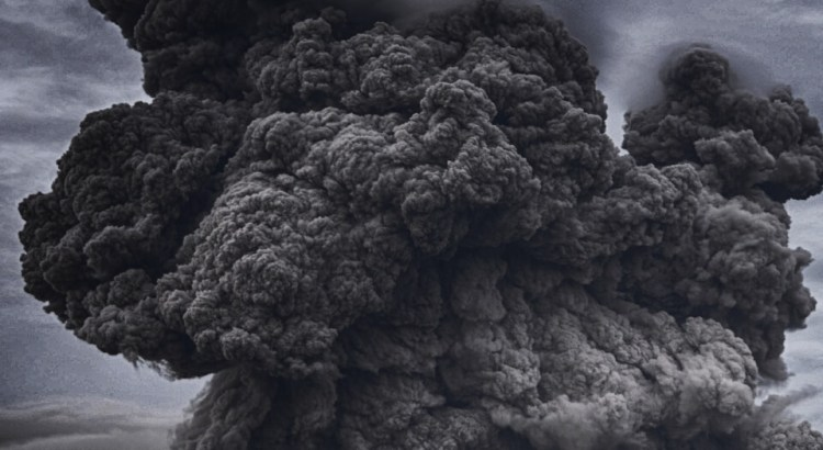 erupce sopky