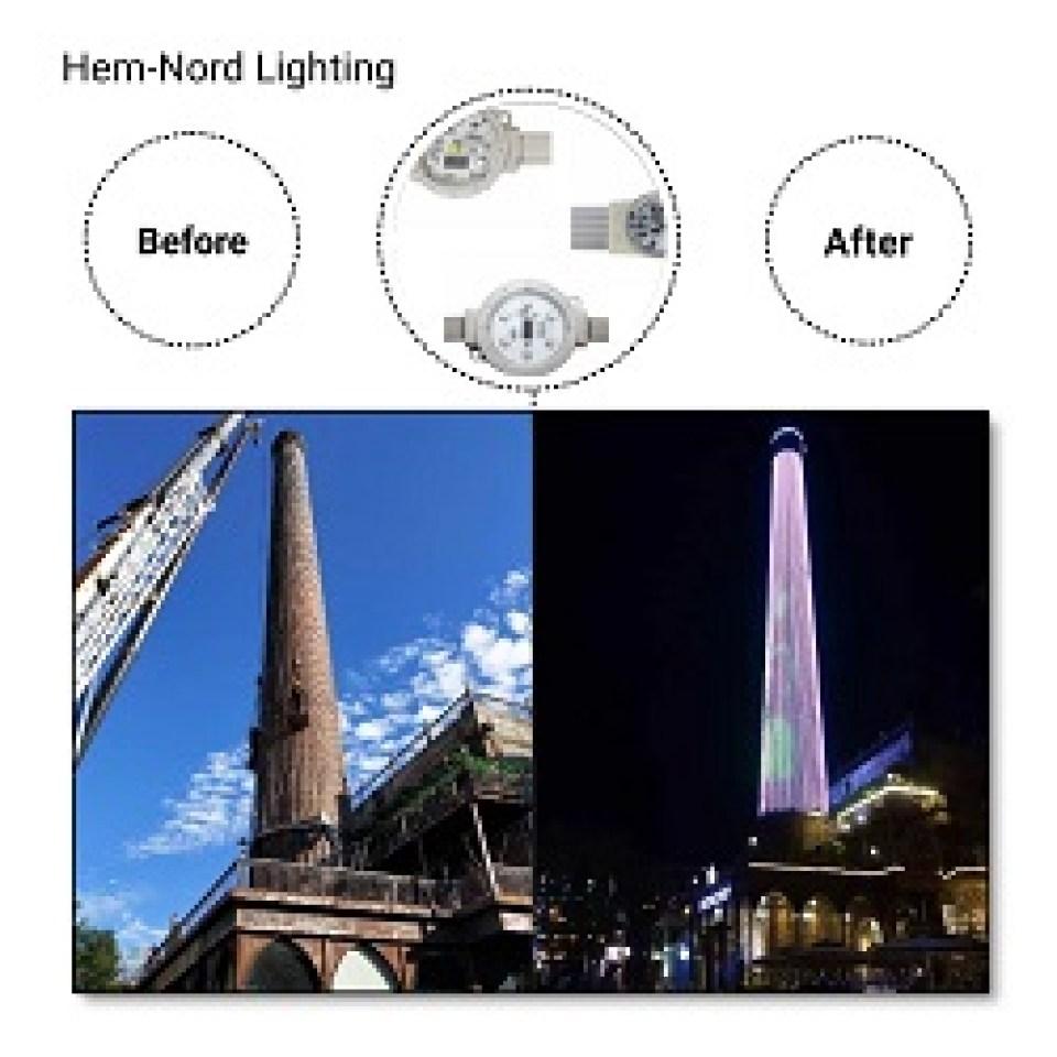 Архитектурно-фасадное освещение зданий