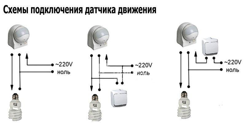 Bewegungssensorkreise mit Schalter ohne IT