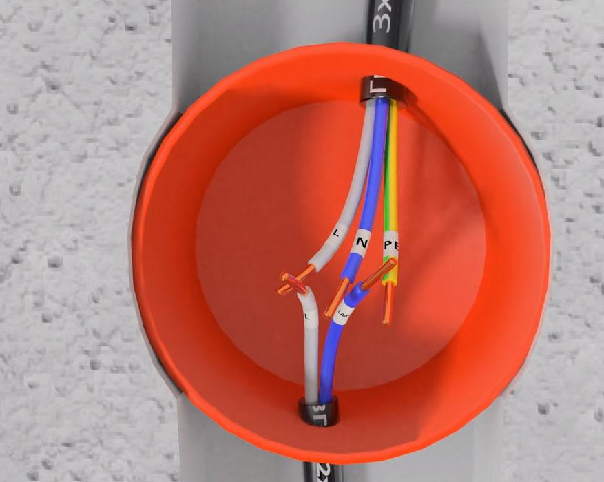 двухжильный кабель для датчика движения