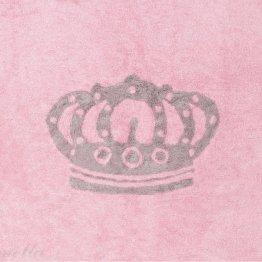 Preproga s krono (roza)