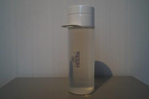 Wat is 'ie mooi hé, de Facilitas - Join The Pipe fles die in elke goodiebag te vinden was.