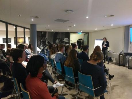 Workshop van TOPdesk met spreekster Rosanna Meerder