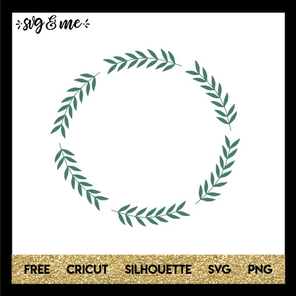 wreath template free svg # 11