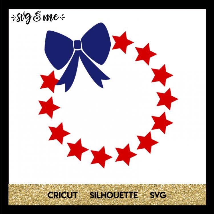Download Patriotic Wreath - SVG & Me