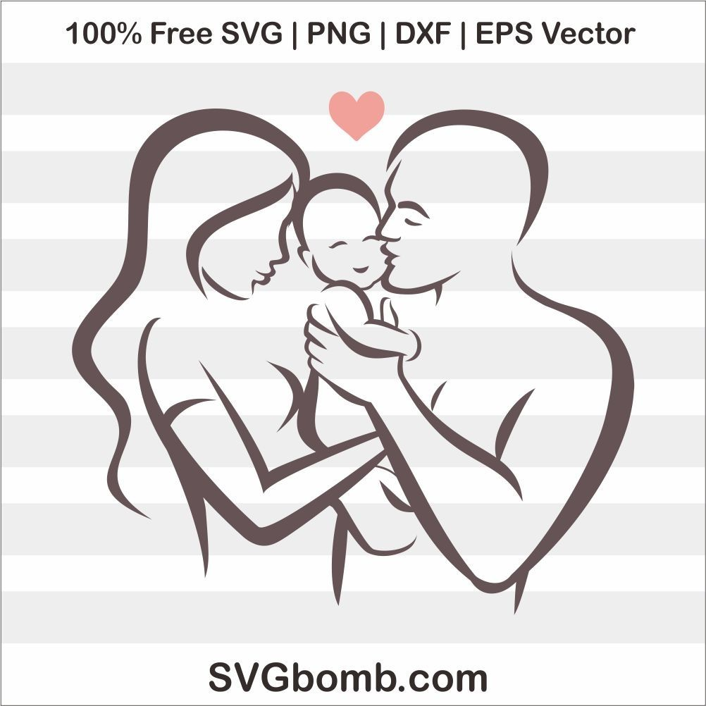 Download Free Family Love Baby SVG Vector Image | SVGBOMB