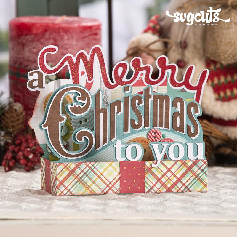 Download Christmas Box Cards SVG Kit | SVGCuts.com Blog
