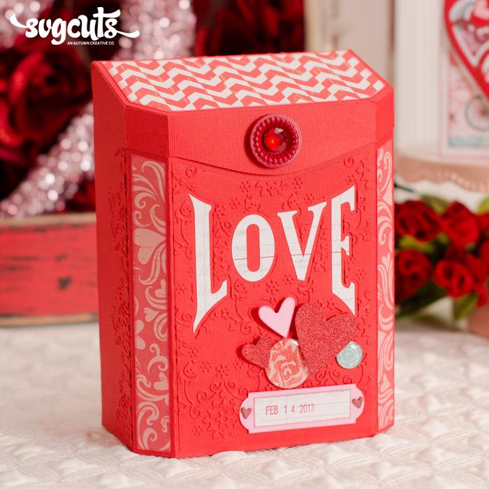 For My Valentine SVG Kit Blog