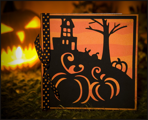Marys Corner Scary Silhouette Cards Blog