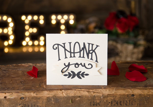 Download Free SVG File - 05.14.16 - Thank You Card | SVGCuts.com Blog