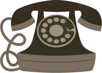 Retro Telephone SVG Cutting File