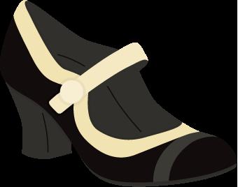 Vintage Ladies Show Free SVG Cutting File