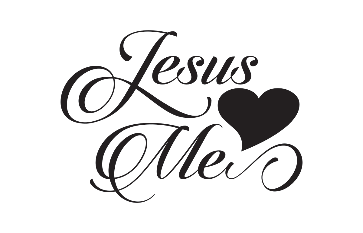 Jesus Loves Me Free SVG File
