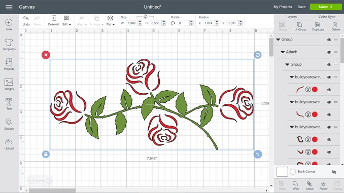 roses video tutorial screenshot