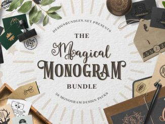 The magical monogram bundle