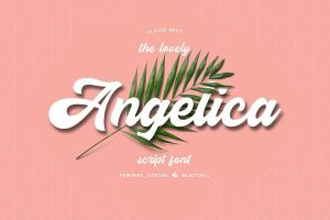 Angelica Font, Free Font