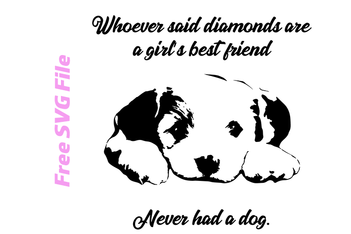 A Girl S Best Friend Free Svg Free Svg Files Amp More