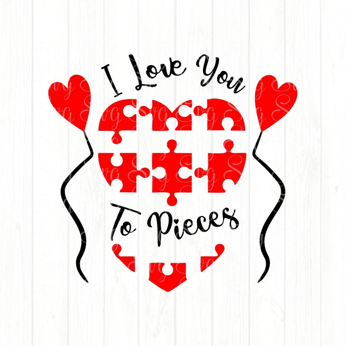 Download I Love You To Pieces svg,Valentine svg,Love svg,Valentine ...