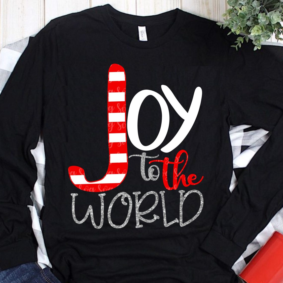 Download joy to the world svg, joy SVG, striped svg,christmas ...