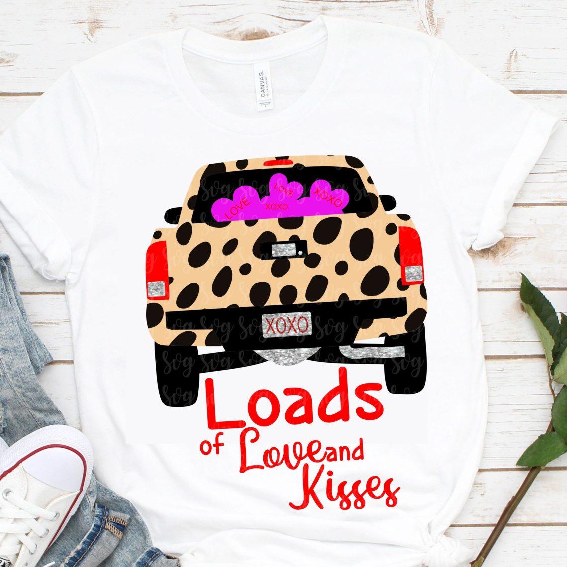 Download leopard print svg,loads of love truck svg, eps, dxf,Files ...
