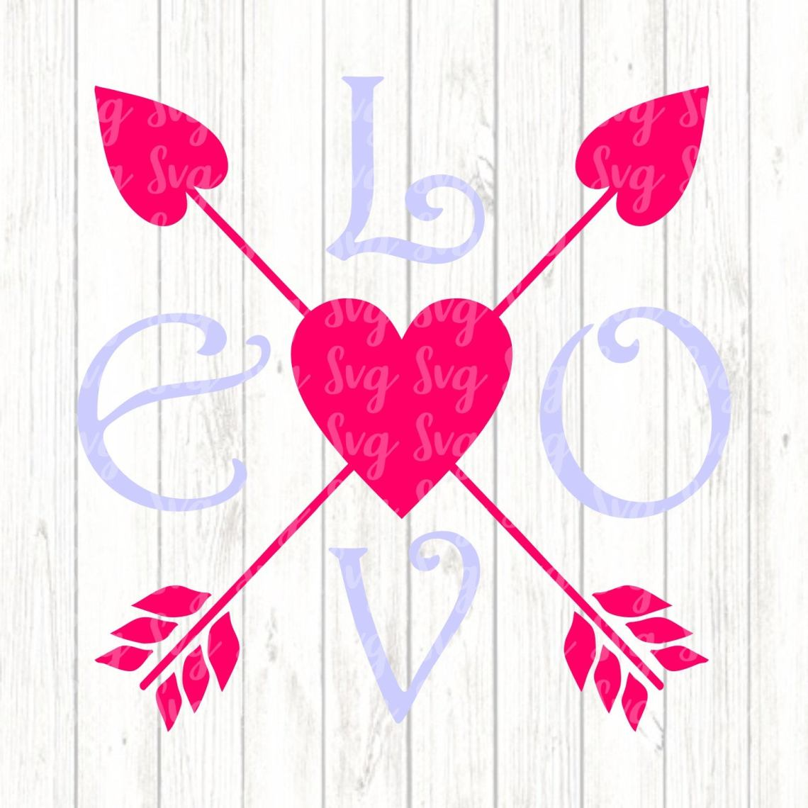 Download Love Arrows svg,Valentine svg,Love svg,Valentines Heart ...