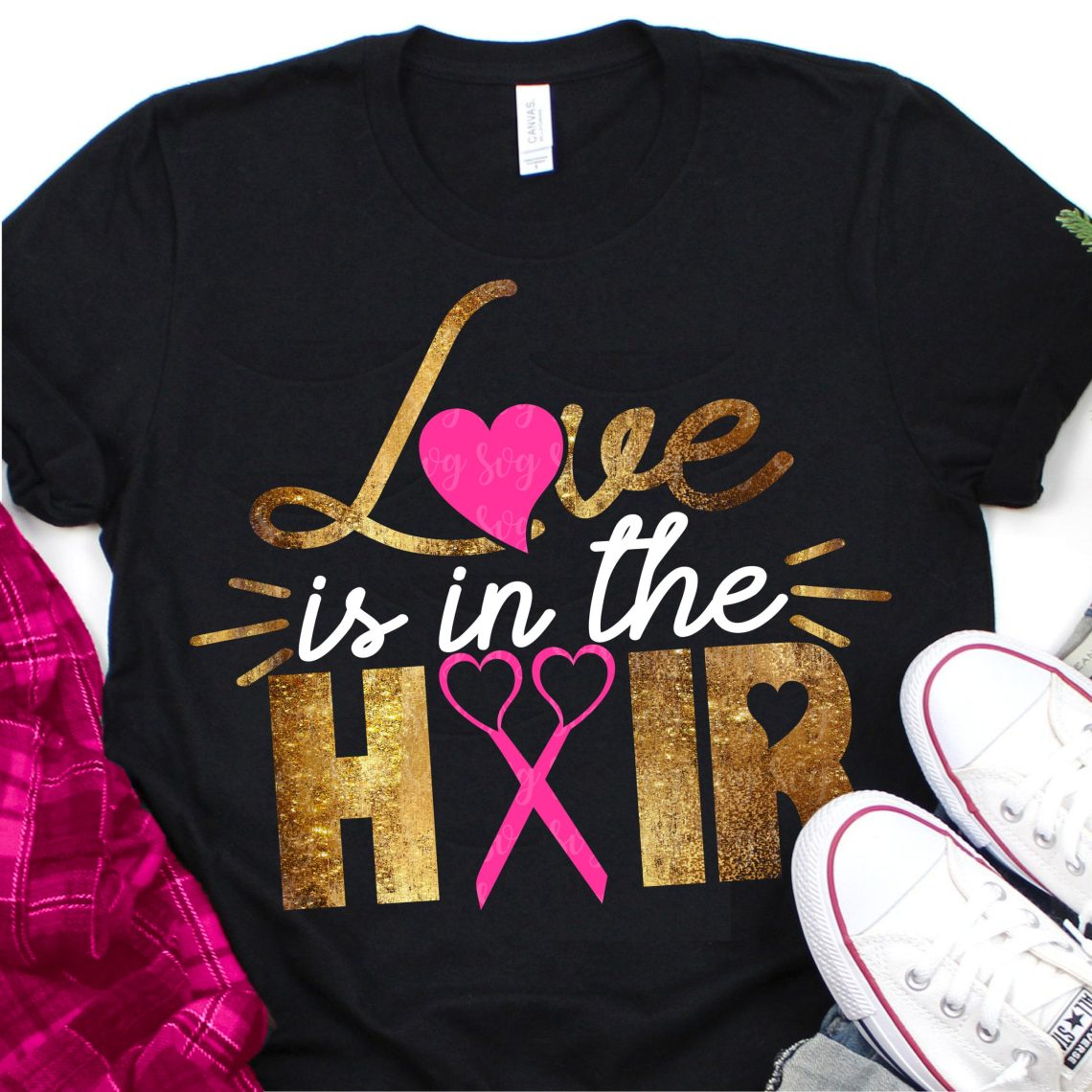 Download love is in the hair svg, eps, dxf,Files for Cutting ...